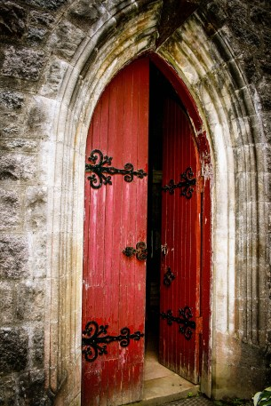Open Church Door