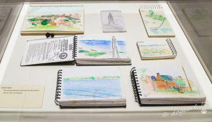 Sketchbooks and preliminary work
