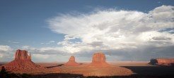 Monument Valley - Sonnenuntergang