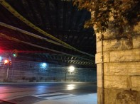 Underpass at Queen and Dufferin streets in Toronto.