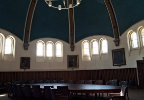 Interior of Croft Chapter House.