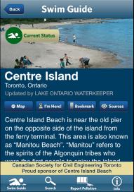 Swim guide Centre