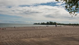 Woodbine beach.