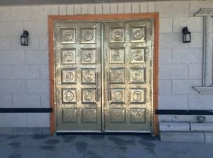Jain temple doors.