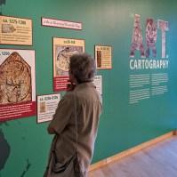 Art of Cartography exhibition.