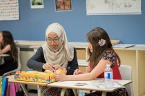 Syrian refugee learning at WWCC