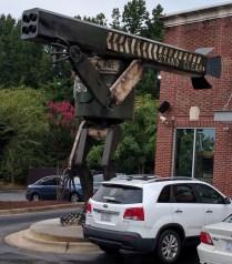 outside robot