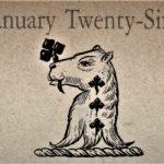 1月26日 誕生日占い【性格・健康についてのアドバイス】