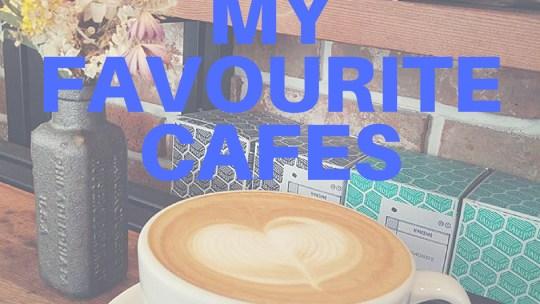 My favourite cafes 口袋裏的咖啡店