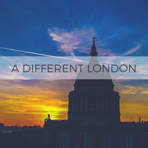 A different London 不一樣的倫敦
