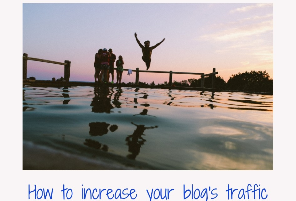 The first step to increase your site's traffic