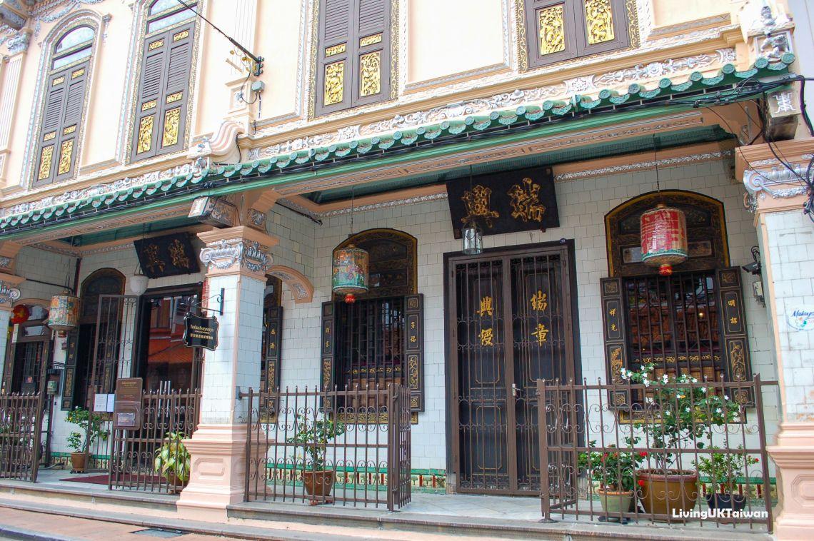 Brown Doors in Malacca, Malaysia