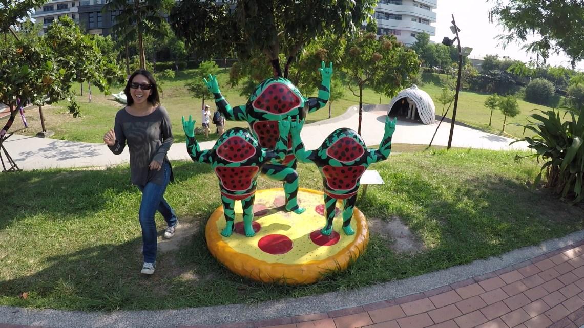 Street art installation, Taichung, Taiwan
