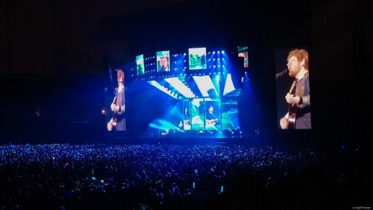 Ed Sheeran and some thickoes  紅髮艾德爛透的主辦單位