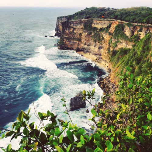 View from Uluwatu Temple in Bali