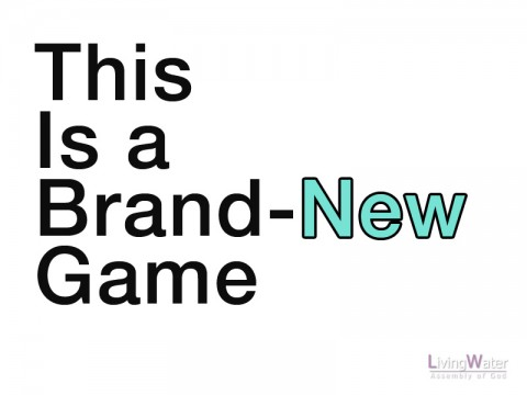 This is a Brand-New Game