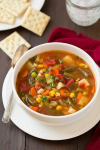 V'8 AND VEGGIES MAKE A GREAT SOUP