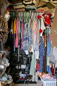 Weeding out the closet in the fall is a tiresome chore
