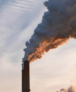 air pollution from coal smoke used to be a fact of life. But coal gave me a dirty neck.