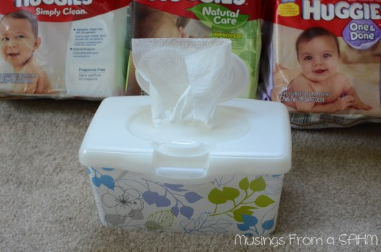 Huggies wipes, Huggies