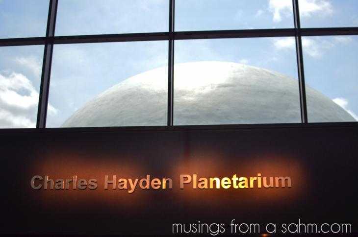 Museum of Science Planetarium