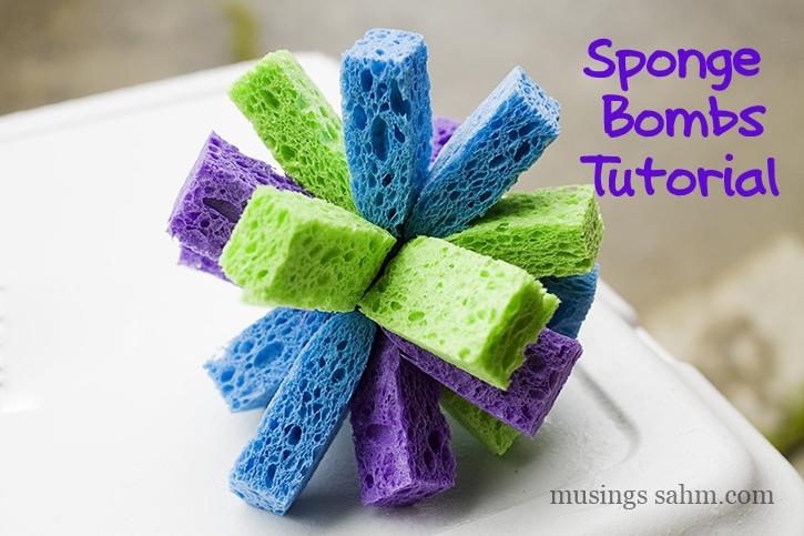 Sponge Bombs Tutorial