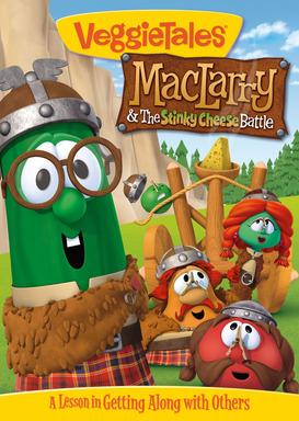 Veggie Tales MacLarry Stinky Cheese DVD