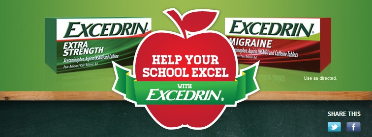 Excedrin Back to School