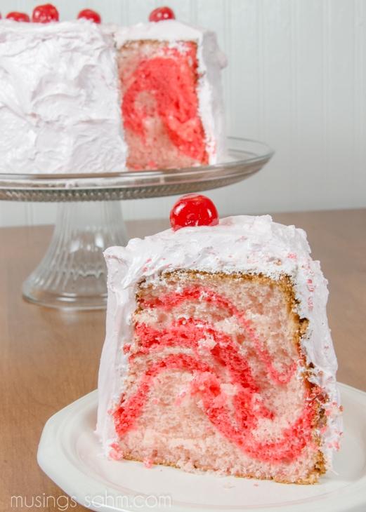 Cherry-Chiffon Cake