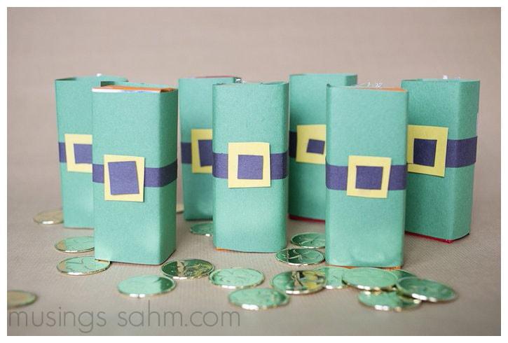Leprechaun Juice Boxes Craft