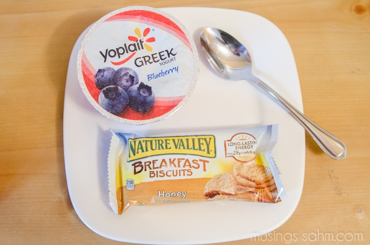 Nature Valley Breakfast Biscuit_Yoplait Greek Yogurt