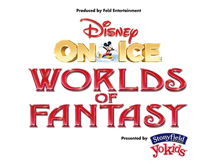 Disney On Ice World of Fantasy logo