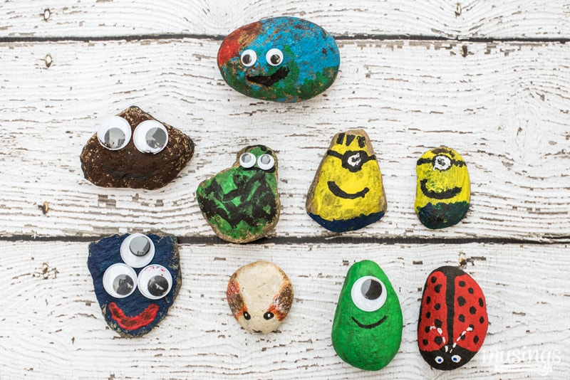 Pet Rocks - a fun activity for kids of all ages
