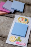 This Magnetic Post-it Notes Holder is a fun, easy-to-make craft that can be personalized with your favorite colors, room decor, style, or occasion. Plus it's a great homemade gift!