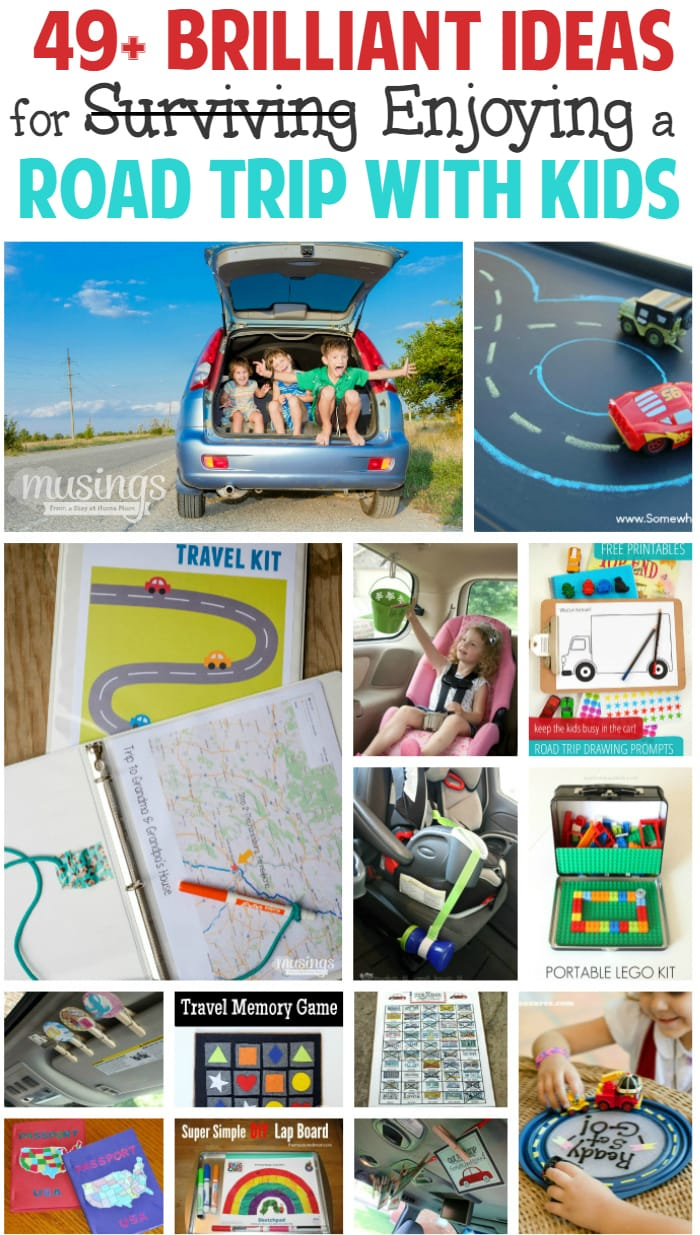 49+ Brilliant Ideas For Enjoying a Road Trip with Kids ...
