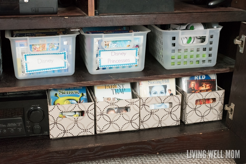 Dvd Organization: How To Fit A Lot Of Movies Into A Small Organized Space