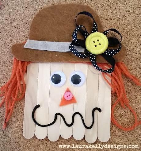 Wooden Stick Scarecrow