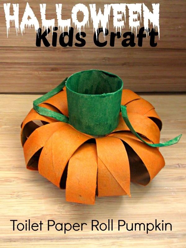 Halloween-Kids-Craft-Toilet-Paper-Pumpkin