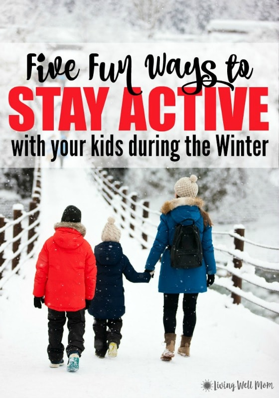 Tired of being stuck inside during the long winter months with little ones and nothing to do? Here's 5 fun ideas to inspire you to stay active with your kids. You don't even have to go outside and you'll be spending quality time with your children!