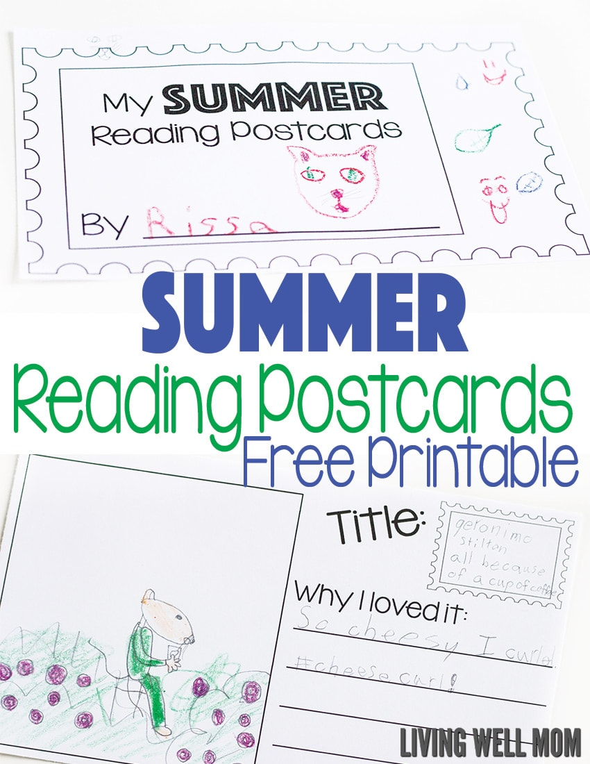 Hoping to get your kids to read more this summer? This fun summer reading log printable set is a great way to encourage children to read! Kids will love drawing pictures and writing about each book and it's a great way to keep track of how many books they've read! Download this FREE printable here.