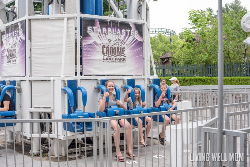 Need a family place to visit where you can REALLY get your money's worth? Canobie Lake Park in Salem, New Hampshire is the place to go for ultimate fun for the ENTIRE family! Here's one family's review of this amusement park: