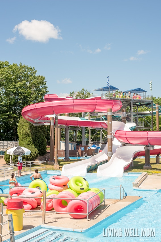 Looking for a fun place to visit with the WHOLE family? Water Country, in Portsmouth, NH, has everything you're looking for! Here's 8 reasons why this water park is a fantastic family place to visit!