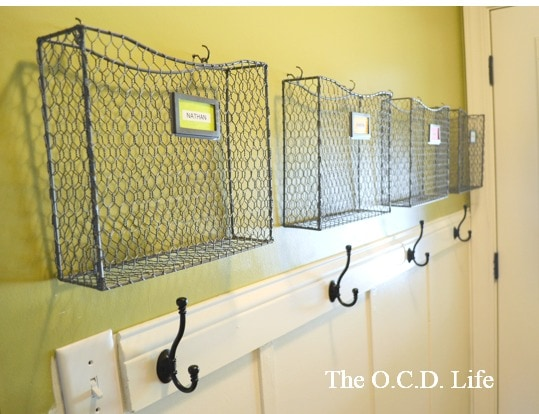 The OCD Baskets for Backpack Organization & Storage