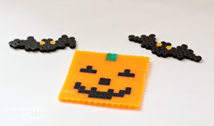 halloween perler bead creations