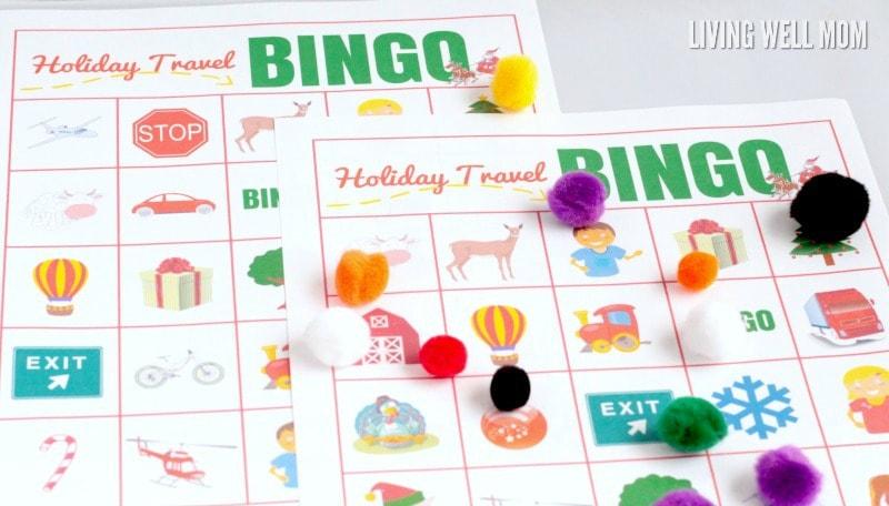 photograph regarding Holiday Bingo Printable known as Printable Bingo Recreation: Holiday vacation Generate