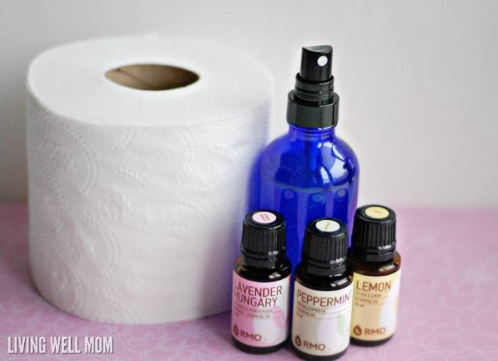 Homemade Before You Go Bathroom Spray