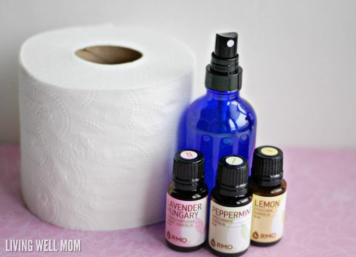 Homemade Before You Go Bathroom Spray