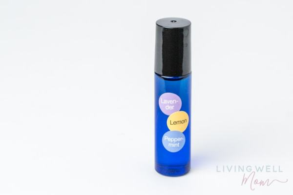 essential oil allergy roller bottle