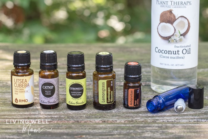 essential oils to keep mosquitoes away with a roller bottle