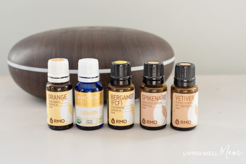 diffuser with uplifting essential oils